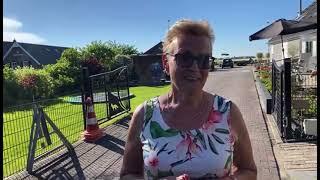 Wethouder Liesbeth Vos over brand Oldebroek