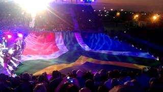 2012 South African Tattoo - South African Flag