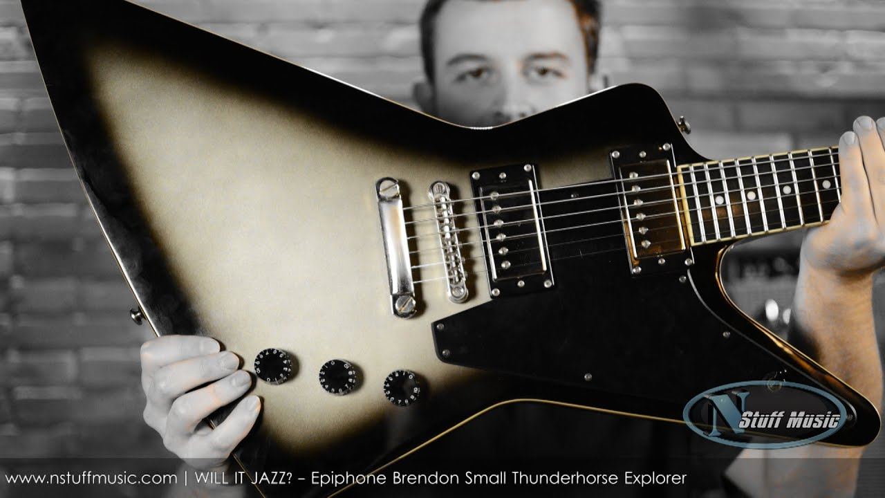 will it jazz epiphone brendon small thunderhorse explorer youtube. Black Bedroom Furniture Sets. Home Design Ideas