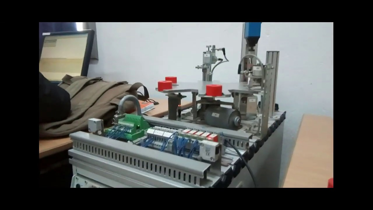 Festo MPS Processing Station with Siemens S7-300: GRAFCET