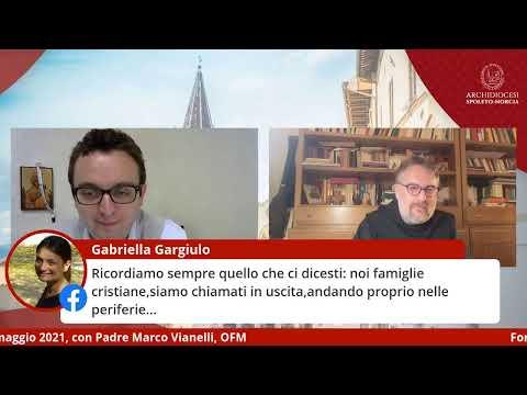 Formazione online per le famiglie con padre Marco Vianelli, OFM, 11 maggio 2021