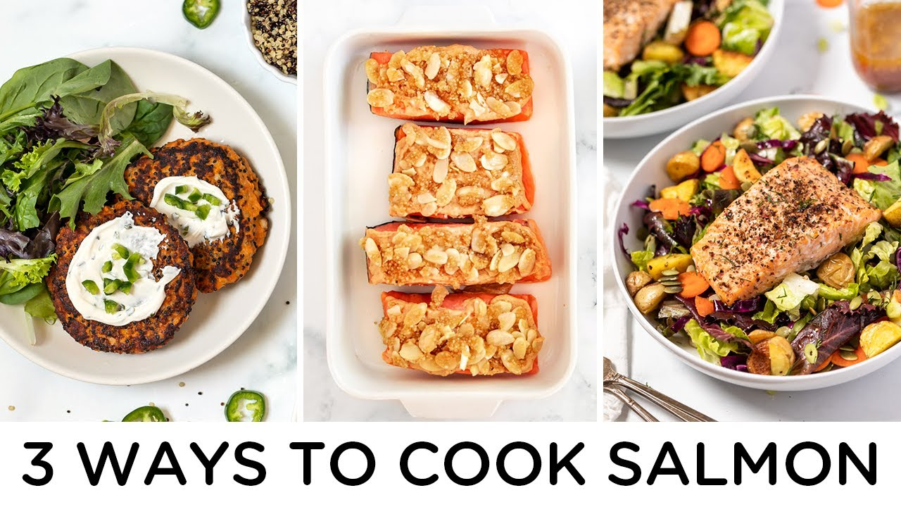 HOW TO COOK SALMON ‣‣ 3 delicious ways!