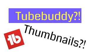 How to make a Thumbnail with TubeBuddy 2019 - Using video still image - ZAMBIAN YOUTUBERS