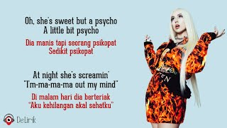 Sweet But Psycho - Ava Max (Lyrics video dan terjemahan)