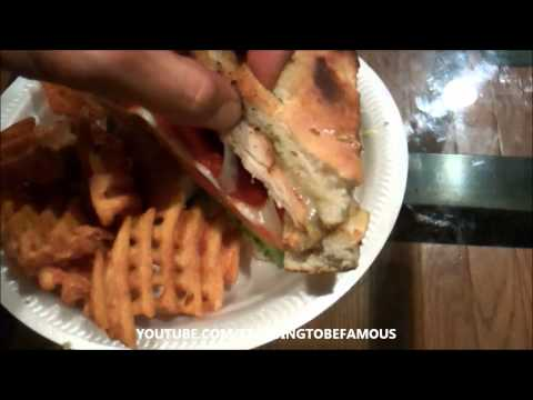 CHICKEN FOCCACIA SANDWICH - PIZZA MASTERS IN JERSEY CITY, NJ - DELIVERY DIARES