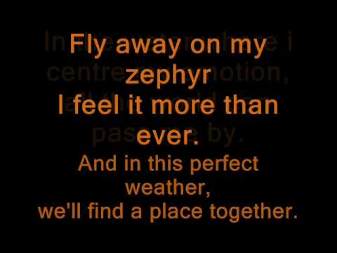 Red Hot Chili Peppers - Zephyr Song LYRICS