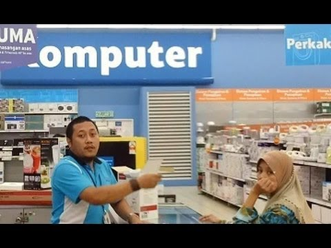 Shopping for an external hard drive in Malaysia