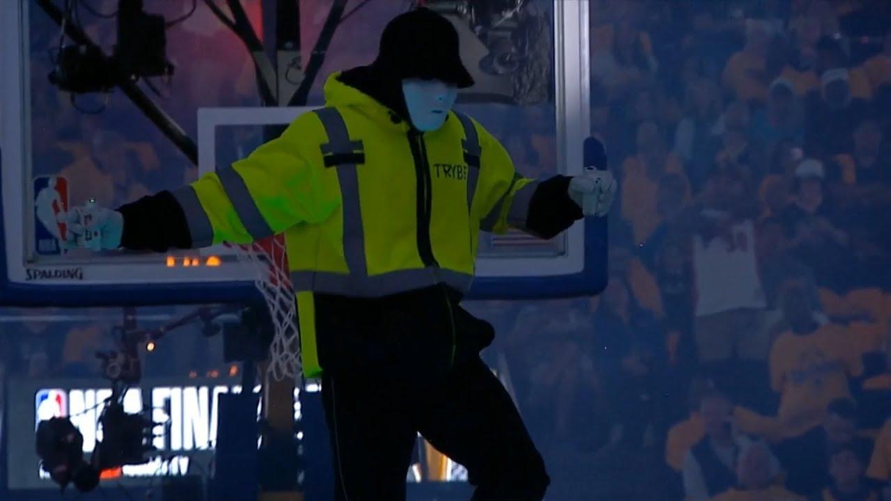 Jabbawockeez Halftime Show   Raptors vs Warriors Game 4   2019 NBA Finals