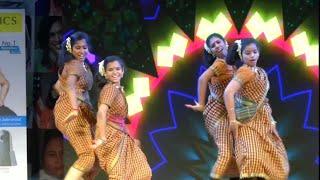 Kolusu kadai orathile song dance by (WCC College girls) -கொலுசு கட ஓரத்தி || Tamil folk songs.