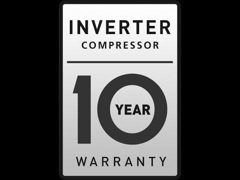 горе 10 лет гарантии на компрессор LG