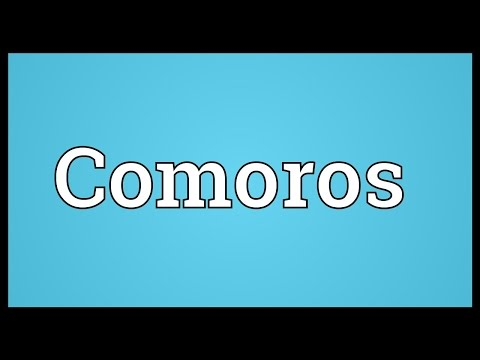 Comoros Meaning