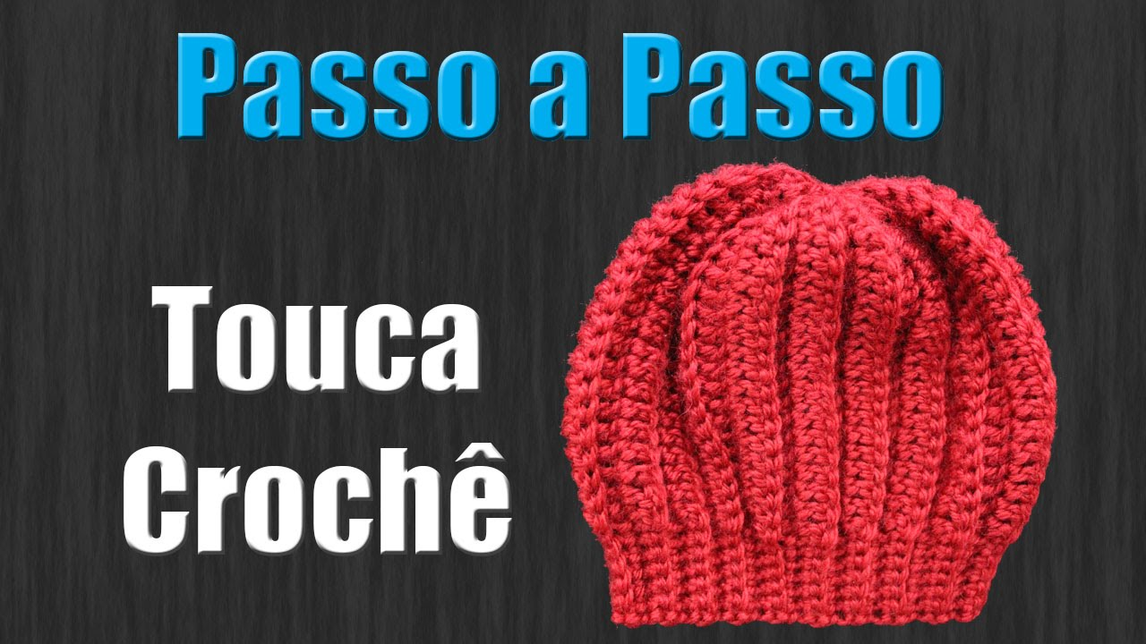 Touca de Croche Newborn - YouTube 56ac584e22f