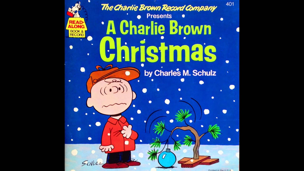 Youtube Charlie Brown Christmas Music.Charlie Brown Christmas Finale From Read Along Soundtrack Album