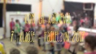 7. klasse • Fastelavn 2017 • Samba