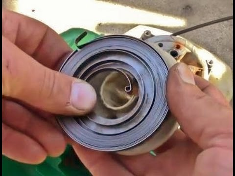 Replace Kawasaki Trimmer Pull Cord