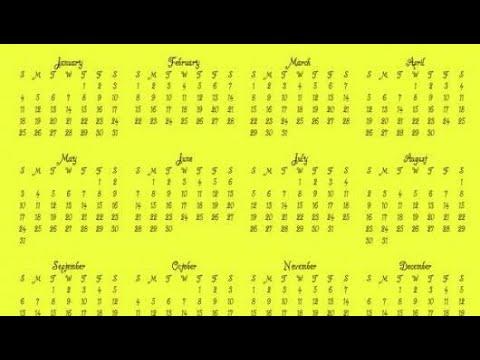 كم عدد أيام السنة الهجرية Youtube