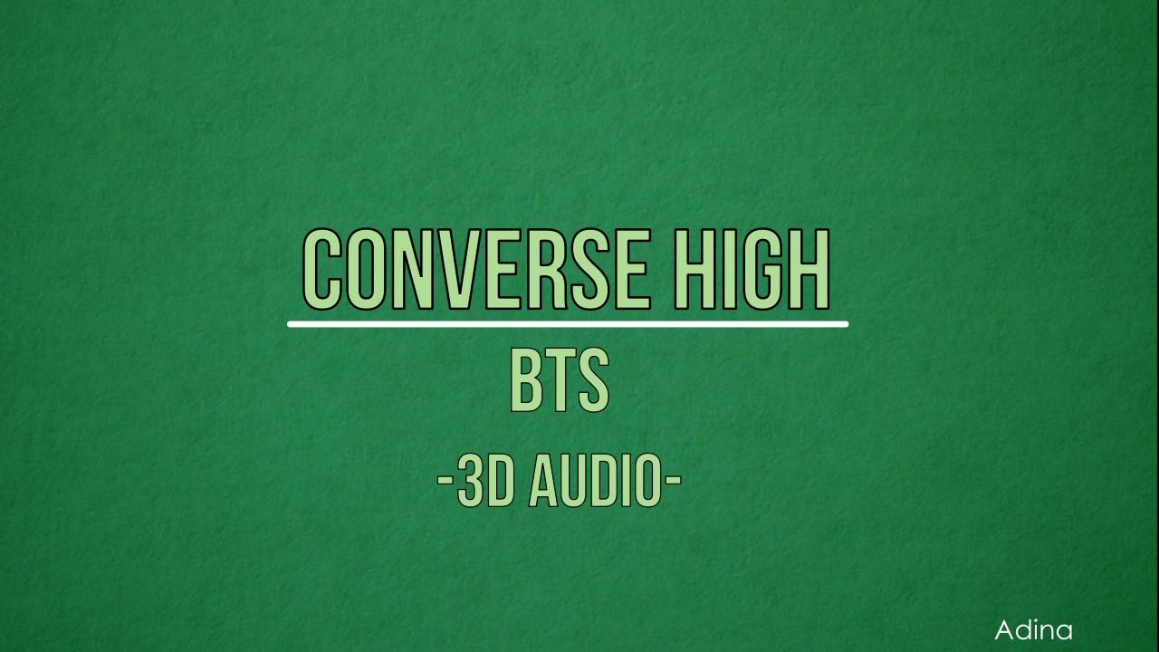 converse high audio
