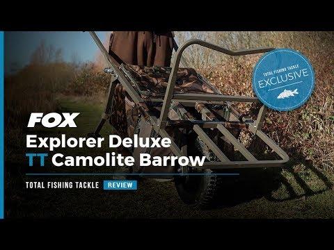EXCLUSIVE | Fox Explorer Deluxe TT Camolite Barrow