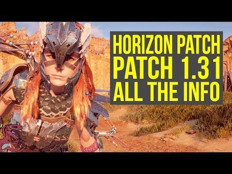 Horizon Zero Dawn Patch 1.31 - WHAT DOES IT DO? (Horizon Zero Dawn 1.31 - Horizon 1.31)