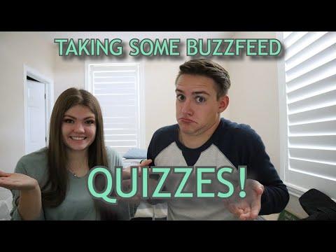 I Try Taking Buzzfeed Quizzes