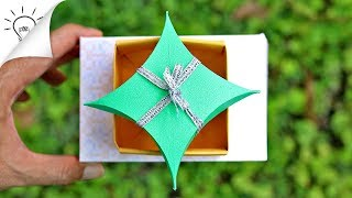 How To Make a Gift Box | Easy