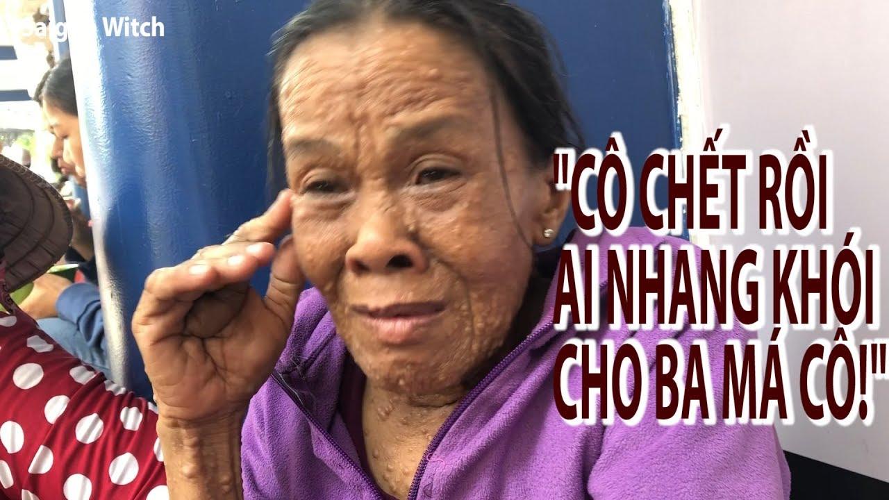 Người Phụ Nữ Lưng Gù, Không Tiền Mua Thuốc, Rao Bán Cái Giường Ngủ Lấy Tiền Chữa Bệnh, Saigon Witch