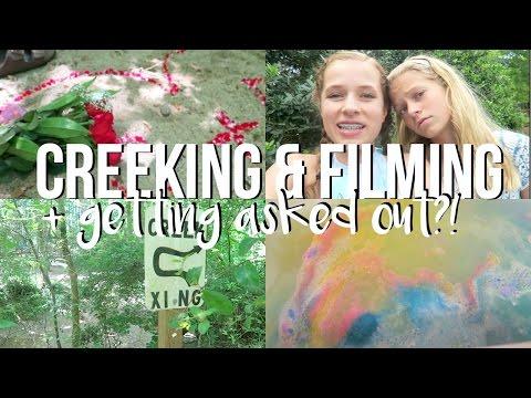 Creeking & Filming!