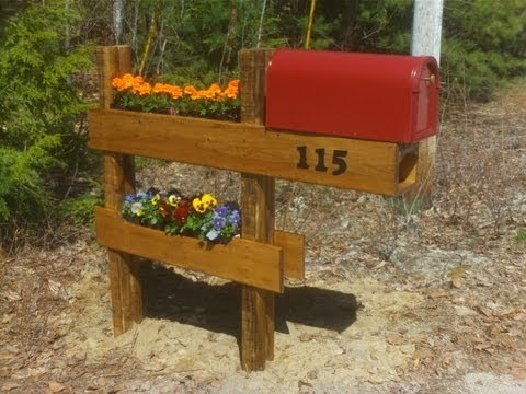 How To Build A Mailbox Planter Easy And Fun Best Mailbox On