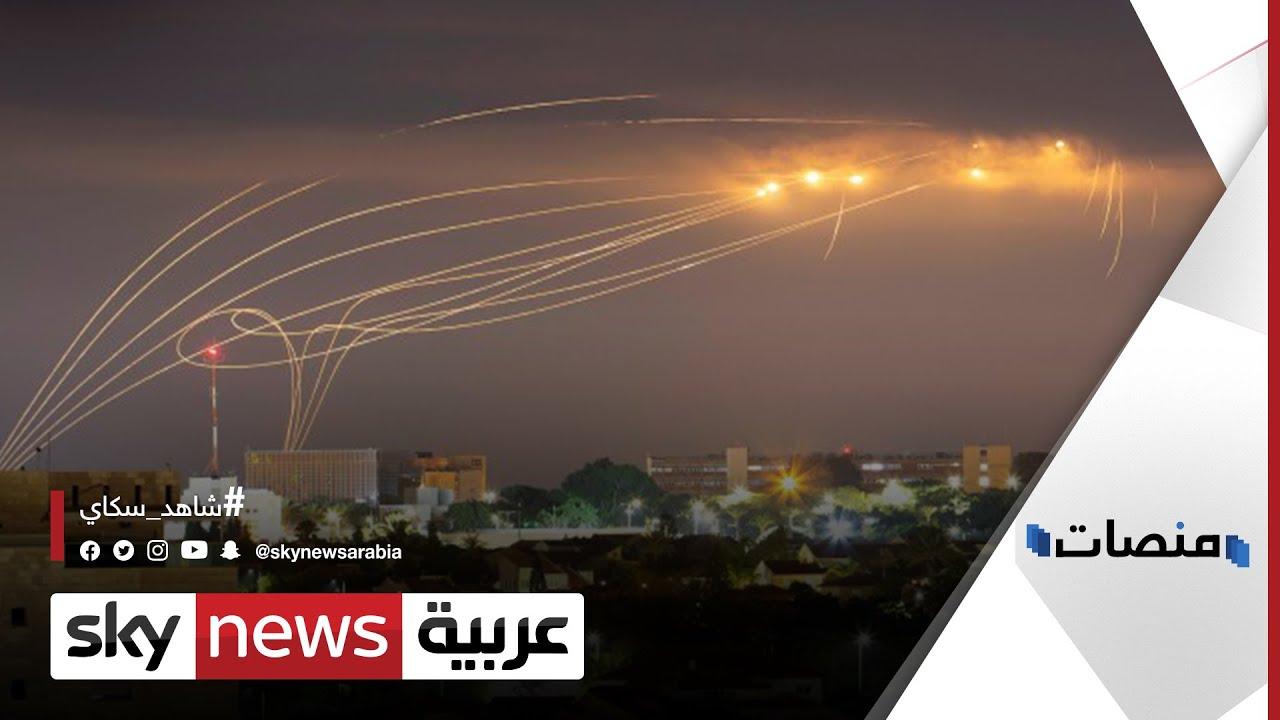 صراخ هستيري في #تل_أبيب بسبب سقوط صاروخ على جسر | #منصات  - نشر قبل 4 ساعة