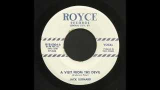 Jack Leonard - A Visit From The Devil - Country Bop 45