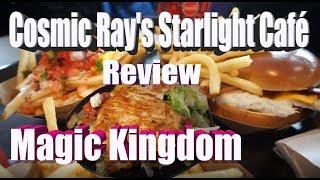 Cosmic Ray's Starlight Café - Vegan & non-vegan Quick Service food Review - Magic Kingdom - WDW