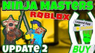 Roblox Ninja Masters ⚔️ Update 2