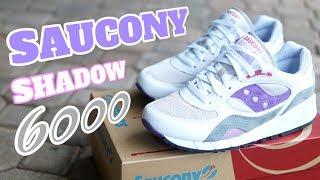 SAUCONY SHADOW 6000 White Purple Grey