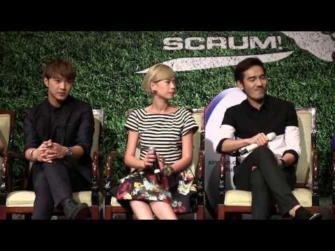 'Scrum' TV Drama Press Conference, February 20, 2014.