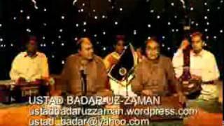 GHAZAL.RAGA PATDEEP.TALADADRA.CHAND KE SATH.Ustad Badaruzzaman.lyrics.Amjad Salam Amjad.