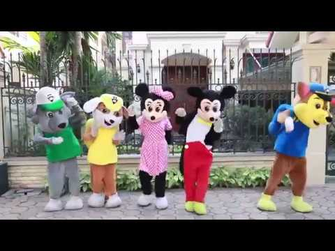 Baby Monkey Bananas #Mickey Mouse & Minnie Mouse New Episodes! #Sing and Dance! #Animal Songs