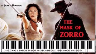 PIANO - The Mask of Zorro by James Horner