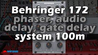 Behringer 172 Phaser Audio Delay LFO Gate Delay