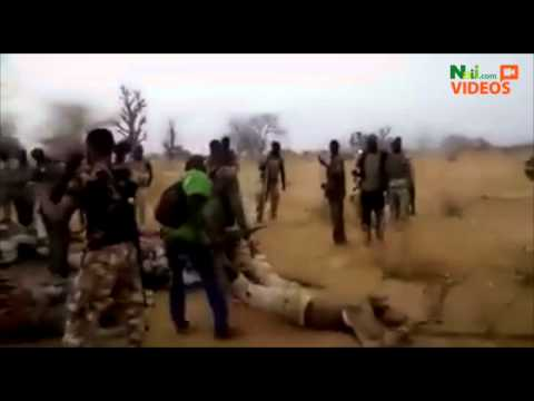 Nigerian army doing their best to finish Boko Haram