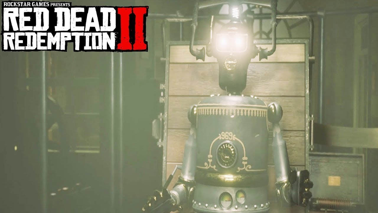 Marko Dragic's quest, Robot Mission-Red Dead Redemption 2 #RedDeadRedemption2  #rdr2