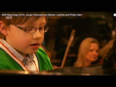 NDR Reportage 2018: Junge Virtuosen am Klavier: Laetitia und Philip Hahn
