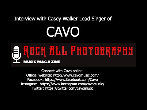 Interview with Casey Walker Lead Singer of Cavo