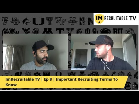 ImRecruitable TV | Episode 8 | Important Recruiting Terms To Know