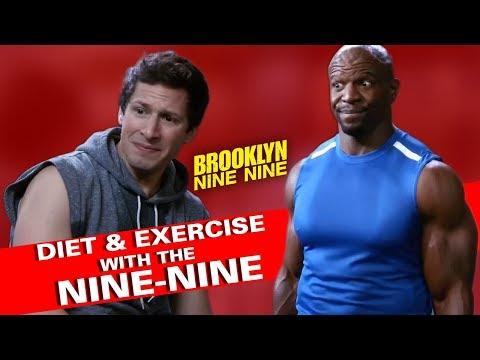 Diet & Exercise With The Nine-Nine | Brooklyn Nine-Nine