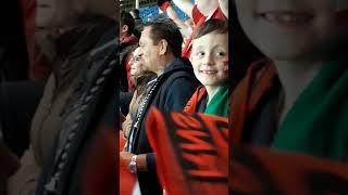 Im Stadion Österreich vs Nordirland