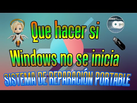 Que hacer si el Sistema Operativo no se inicia | Reparar PC con Windows 10 Portable | Hiren's BootCD