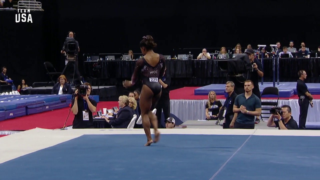 Biles caps 6th U S  title with historic triple-double | Black EOE