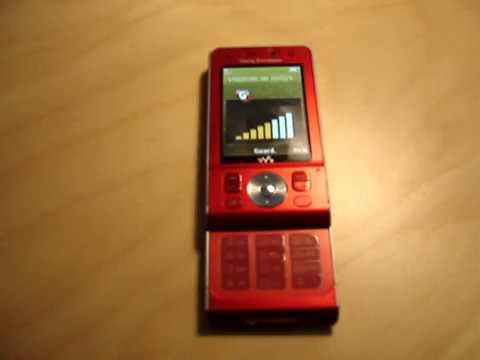 Sony Ericsson w910i - Ring Tone