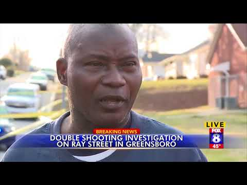 Breaking news Greensboro double shooting