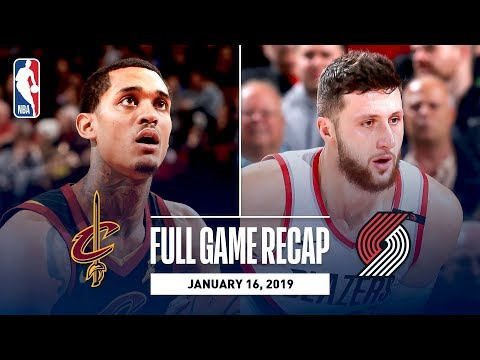 Ron Verb - Cavs Can't Keep Winning Streak Alive Falling To Portland On The Road